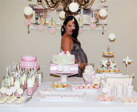 loosh creations baby shower table decor inspiration