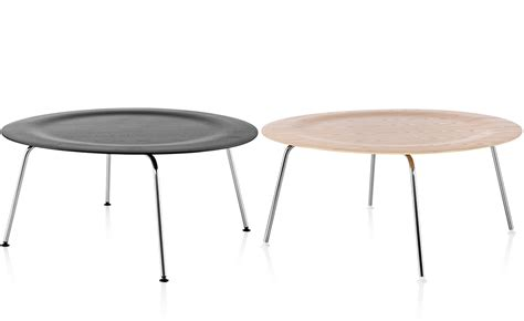 Eames Plywood Coffee Table Eames Molded Plywood Coffee Table With Metal Base Hivemodern