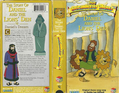 the beginner s bible daniel and the lions den i can read the beginner s bible books vhs your home for high resolution scans of