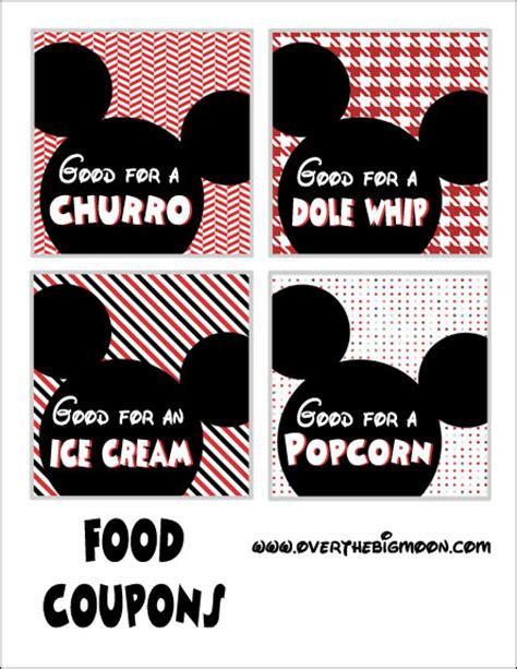 Printable Food Coupons For Disney World | disneyland coupon printables