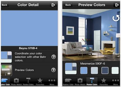 behr paint color app android behr s colorsmart color selection tool goes mobile pro