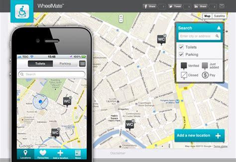 app bagni pubblici wheelmate l app aiuta i disabili app per trovare