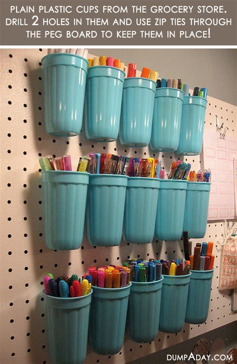 Do It Yourself Ideas For Home Decorating by Amazing Easy Diy Home Decor Ideas Plastic Cup Organizer