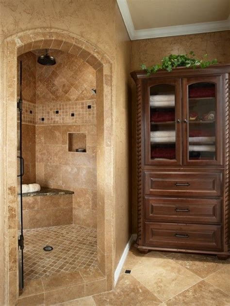 Master Bathroom Plans With Walk In Shower World Corner Shower Tile Design Pictures Remodel Decor And Ideas Page 7 For My