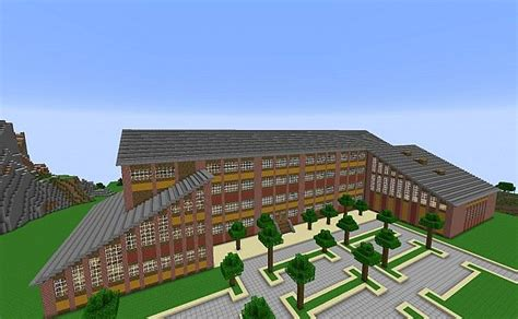 how to build a building minecraft school minecraft project