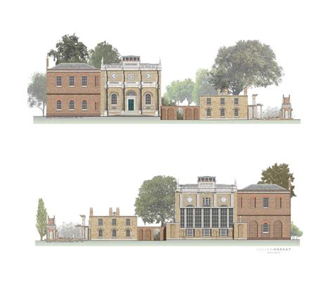 Floor Plans With Courtyard pitzhanger manor walpole park pm gallery e architect