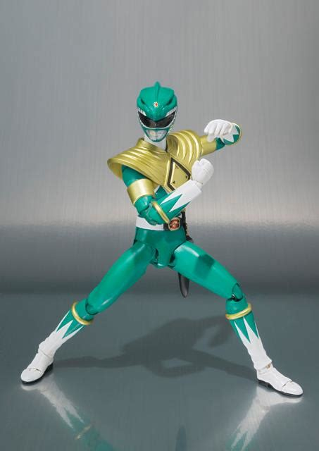 Shf Green Ranger Us Ver mighty morphin power rangers omegarider99zx