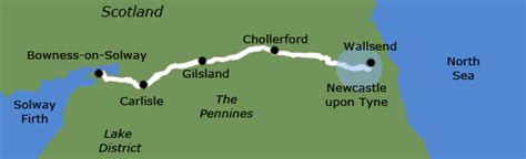 Frontier Forts hadrian s wall guided walking holiday northwestwalks co uk