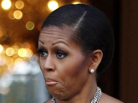 michelle obama without hair photos of michelle obama s style facial make up and hair