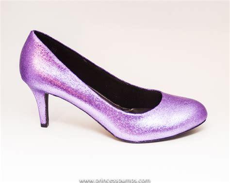 purple high heel pumps glitter lavender purple high heels pumps custom by