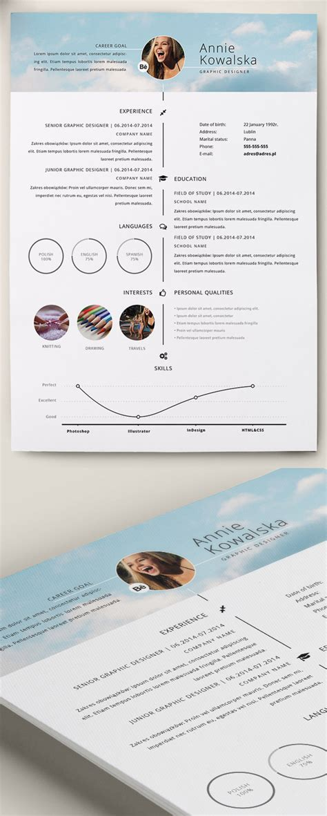 cv template word timeline free professional cv resume and cover letter psd templates