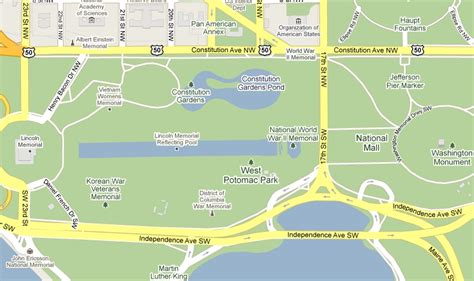 washington dc map lincoln memorial the washington monument thinglink