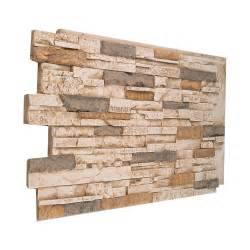 137 multi color faux stacked wall panel made in usa