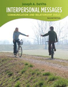 interpersonal messages communication and relationship 2nd edition ebook interpersonal messages communication and relationship