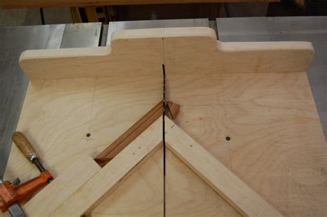 how to build a sled for table saw table saw miter sled the apprentice and the journeyman