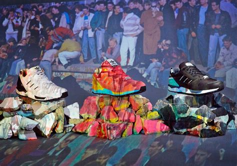 Adidas Celebrate Orignality Fall 2006 Collection by Adidas Originals Zx8000 Quot Fall Of The Berlin Wall Quot Pack