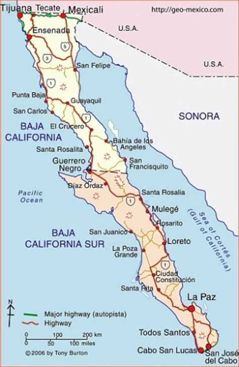 baja california sur map mexico and beyond s photo journey 04 01 16