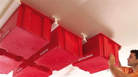 Garage Makeover Ideas Ceiling Storage 40 Awesome Ideas To Organise Your Garage