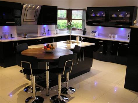 Black And White Kitchens Designs by 25 Black Kitchen Design Ideas Creating Balanced Interior