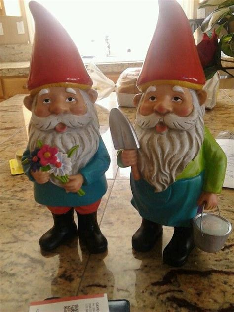 crazy lawn gnomes on pinterest garden gnomes gnomes and i think i want to have a creepy obsession for gnomes i