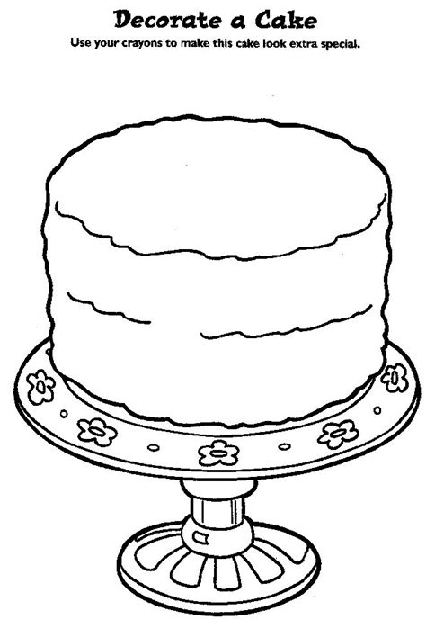 coloring book design your own birthday cake design kids