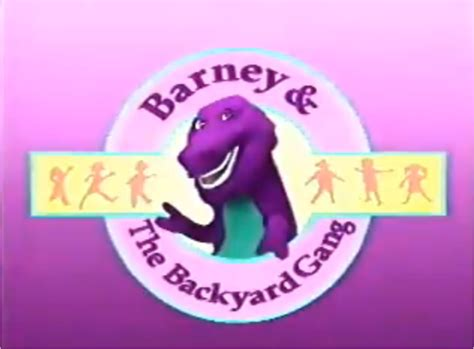 barney and the backyard gang i love you image 800px backyard gang title png barney wiki