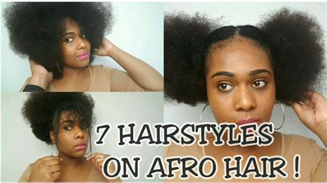hairstyles for afro hair for school 7 hairstyles on afro hair back to school hairstyles