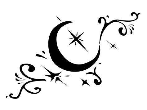 black moon tattoo 11 great moon designs design ideas