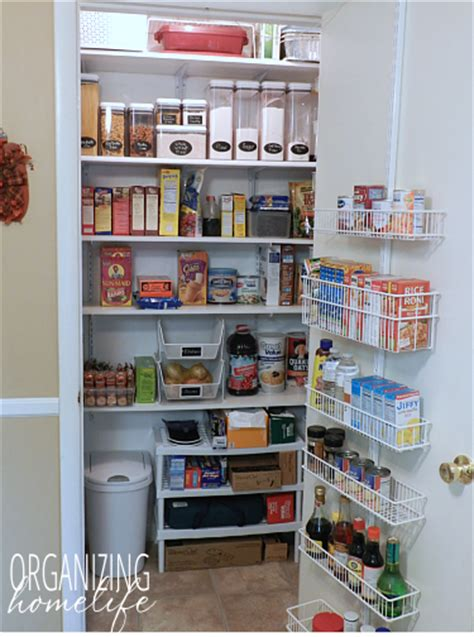 Food Pantry Organizers by Storing Non Food Items In The Pantry Organize Your