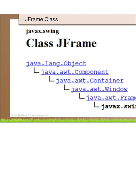swing class java programming in java 17 swing