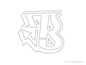 Graffiti Letter Templates by Graffiti Alphabet Stencils A Z Graffiti Alphabet Org