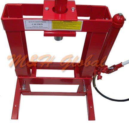 10 ton hydraulic floor press 10 ton hydraulic shop press floor bench top w pressure