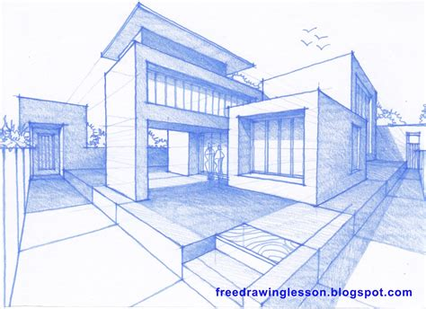 How To Draw A House | how to draw a house learn to draw