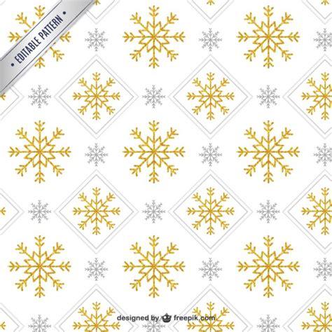 pattern snowflake ai golden snowflake pattern vector free download