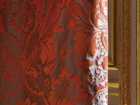 tessuti damascati per tende tessuto damascato con motivi floreali odalisque by lelievre