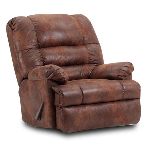 Big Recliner by Chelsea Home 7938 Chelsea Home Big S Handle Recliner