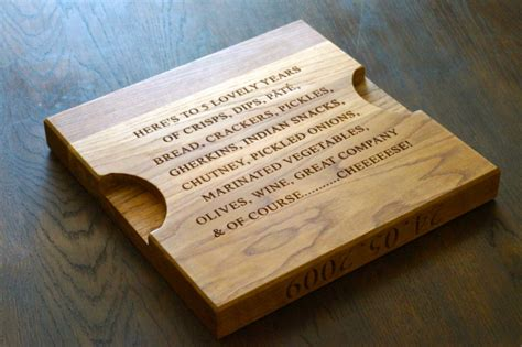 5th wedding anniversary gift ideas for make me something special