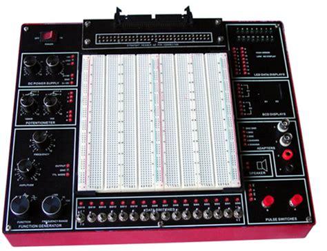 digital design lab with solderless breadboard digital analog circuits lab