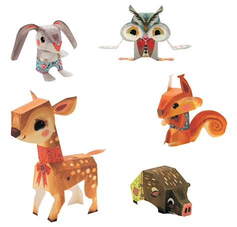 Origami Forest Animals - animaux de la for 234 t ribambelles ribambins