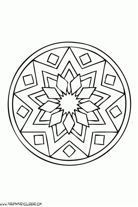 imagenes de mandalas simples para colorear mandalas para pintar mandalas para colorear dibujos