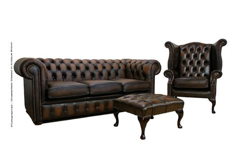 Buy Brown Leather Sofa Chesterfield Suite Made In Uk Leather Sofas Made In Uk