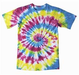how to make a spiral tie dye t shirt