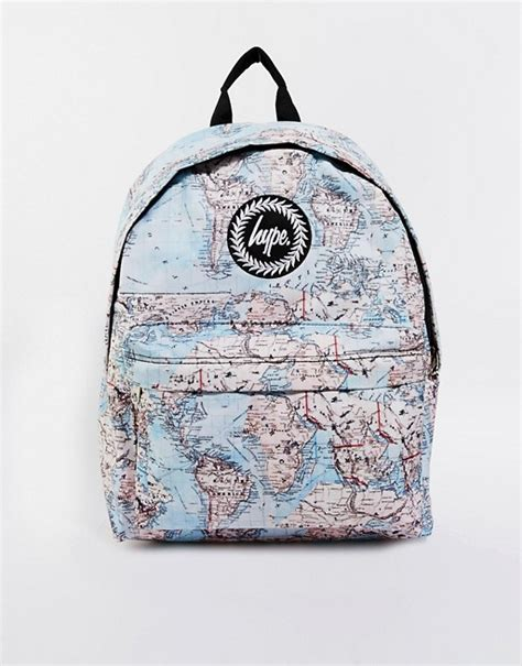 hype maps backpack asos