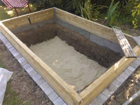 Comment Fabriquer Un Bassin Hors Sol by Construire Un Bassin De Jardin Hors Sol En Bois Bassin