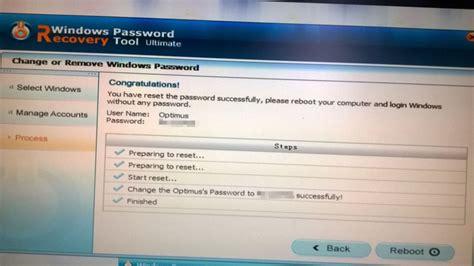 tool reset windows 10 password how to reset lost windows 10 pc password with windows