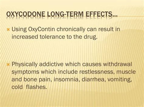 Side Effects Of Detoxing From Oxycontin by Ppt Opiates Powerpoint Presentation Id 6085853