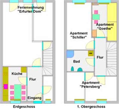 2 schlafzimmerapartment grundrisse apartment zimmer goethe haus weimar erfurt in klettbach