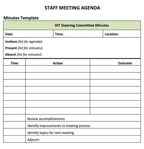 staff meeting agenda sample grand picture with scorpionade com