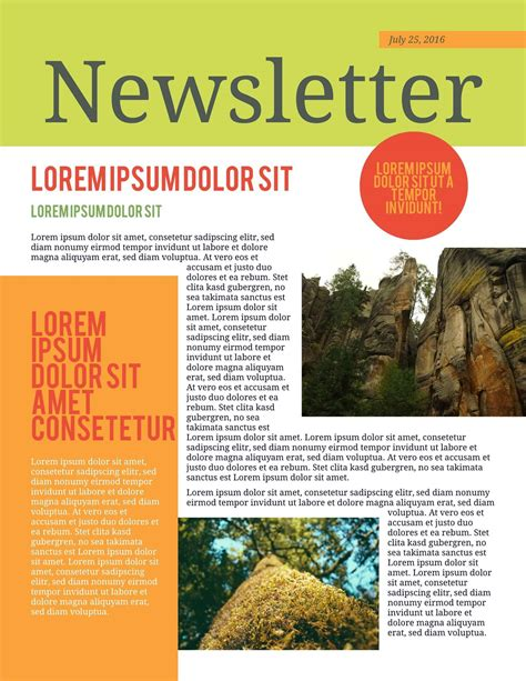 newsletters template 9 free business newsletters templates exles