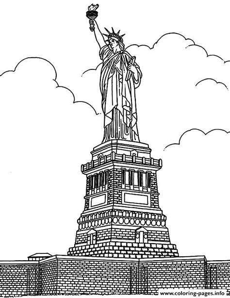 coloring books for adults new york times city coloring new york statue liberte coloring pages